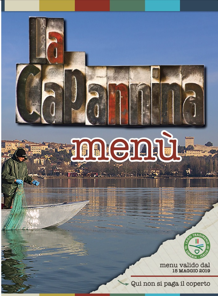 menù ristorante la capannina pagina 1 - castiglione del lago